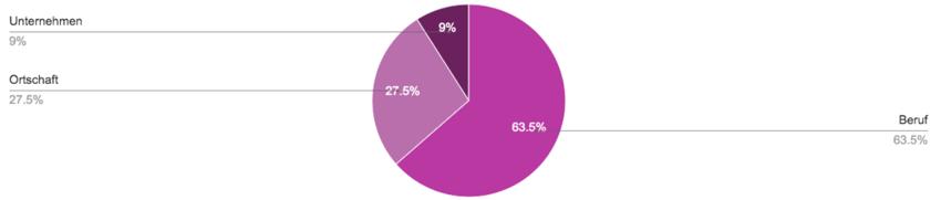 Umfrageresultat Suchverhalten von Jugendlichen